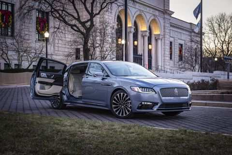 28 All New 2019 Lincoln Continental Spy Shoot