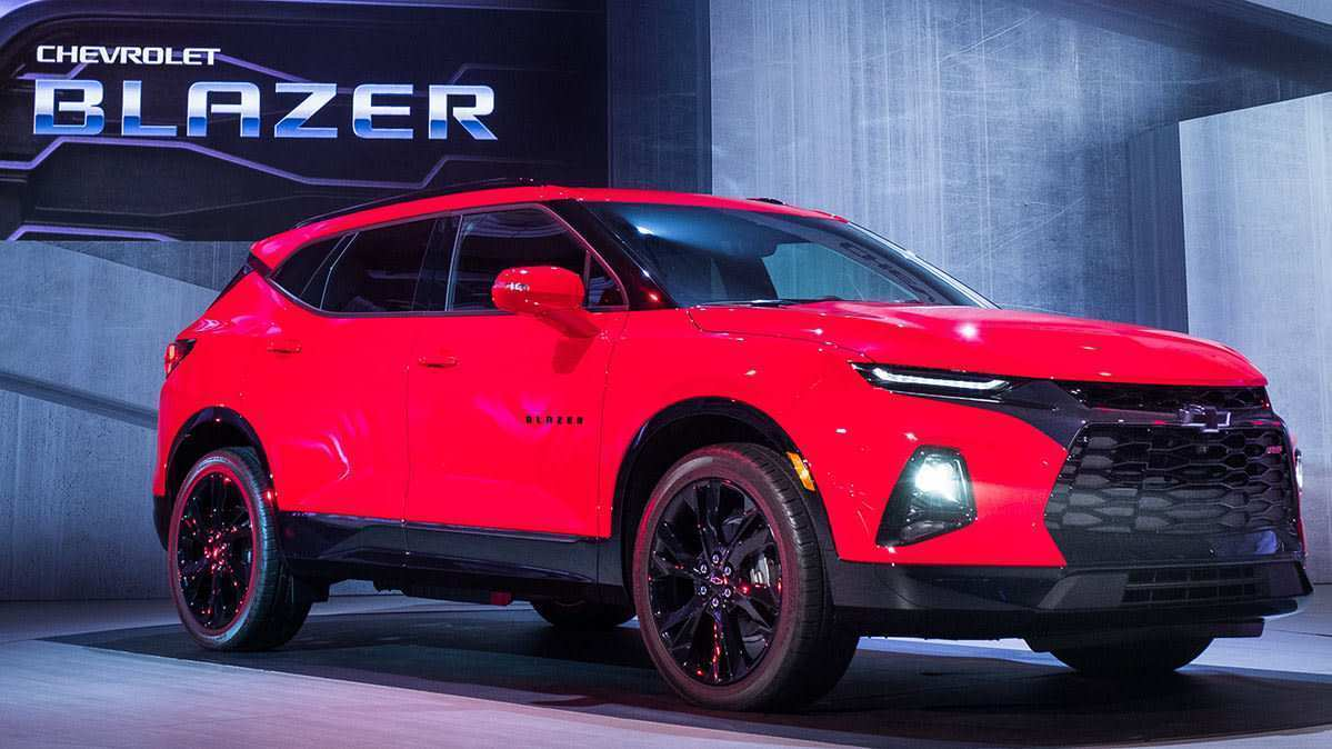 28 All New 2019 The Chevy Blazer Performance And New Engine