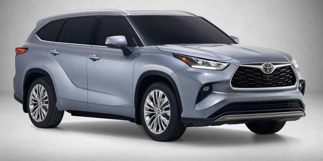 28 All New 2019 Toyota Highlander New Model And Performance