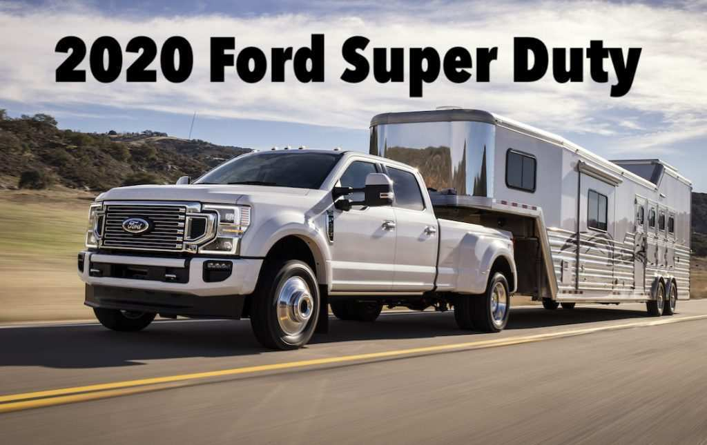 28 All New 2020 Ford F350 Diesel Release Date And Concept