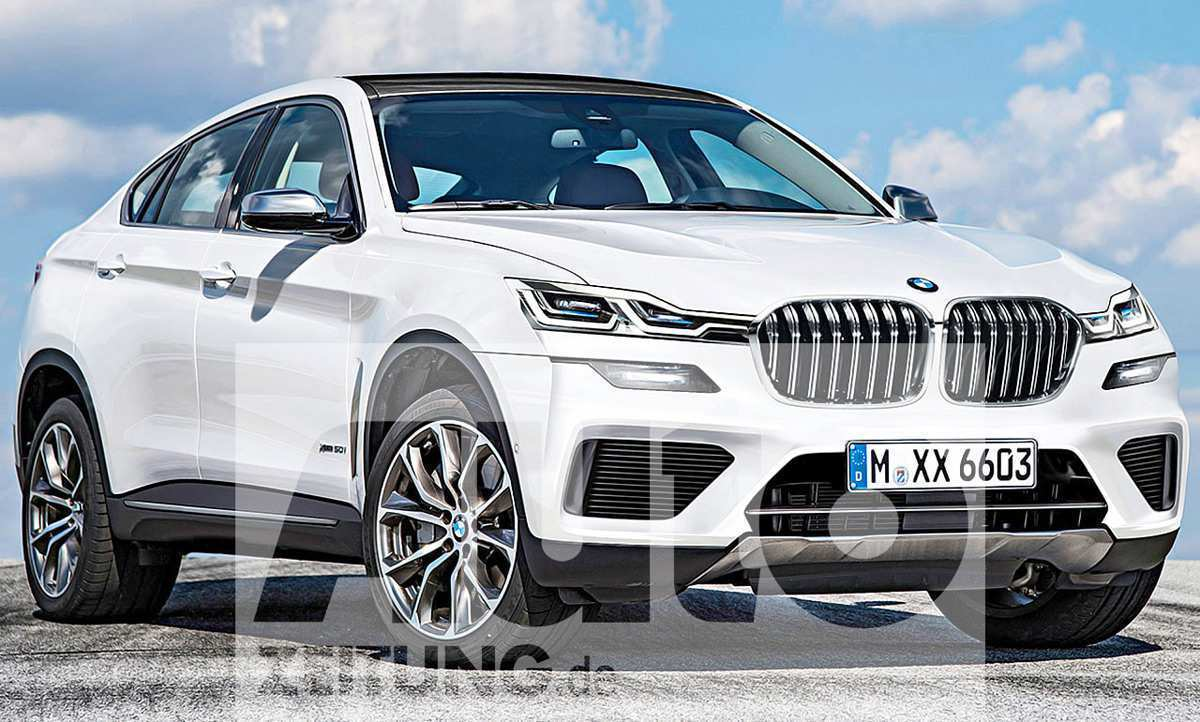 28 All New BMW X6 2020 Spy Shoot