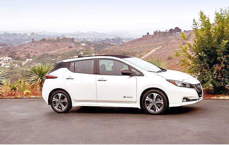 28 New 2019 Nissan Leaf Review Exterior