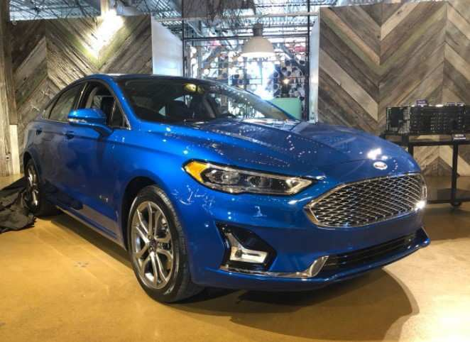 28 The 2019 The Spy Shots Ford Fusion Review And Release Date