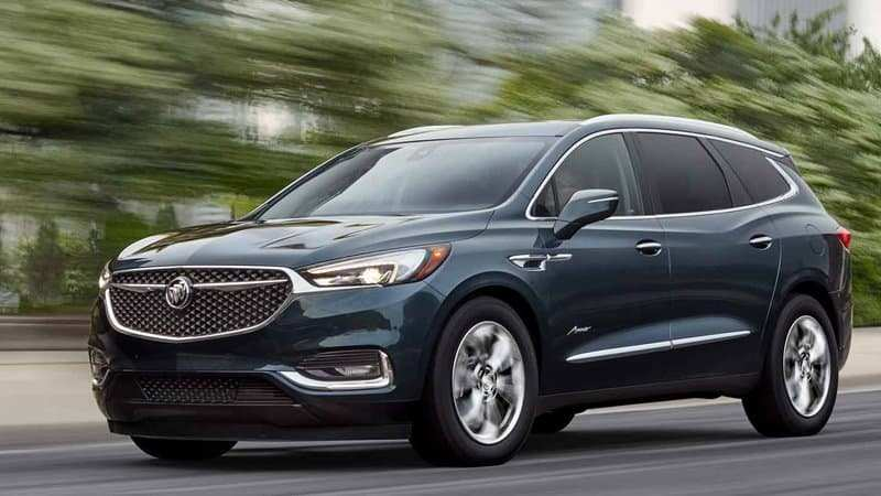 28 The 2020 Buick Station Wagon Interior