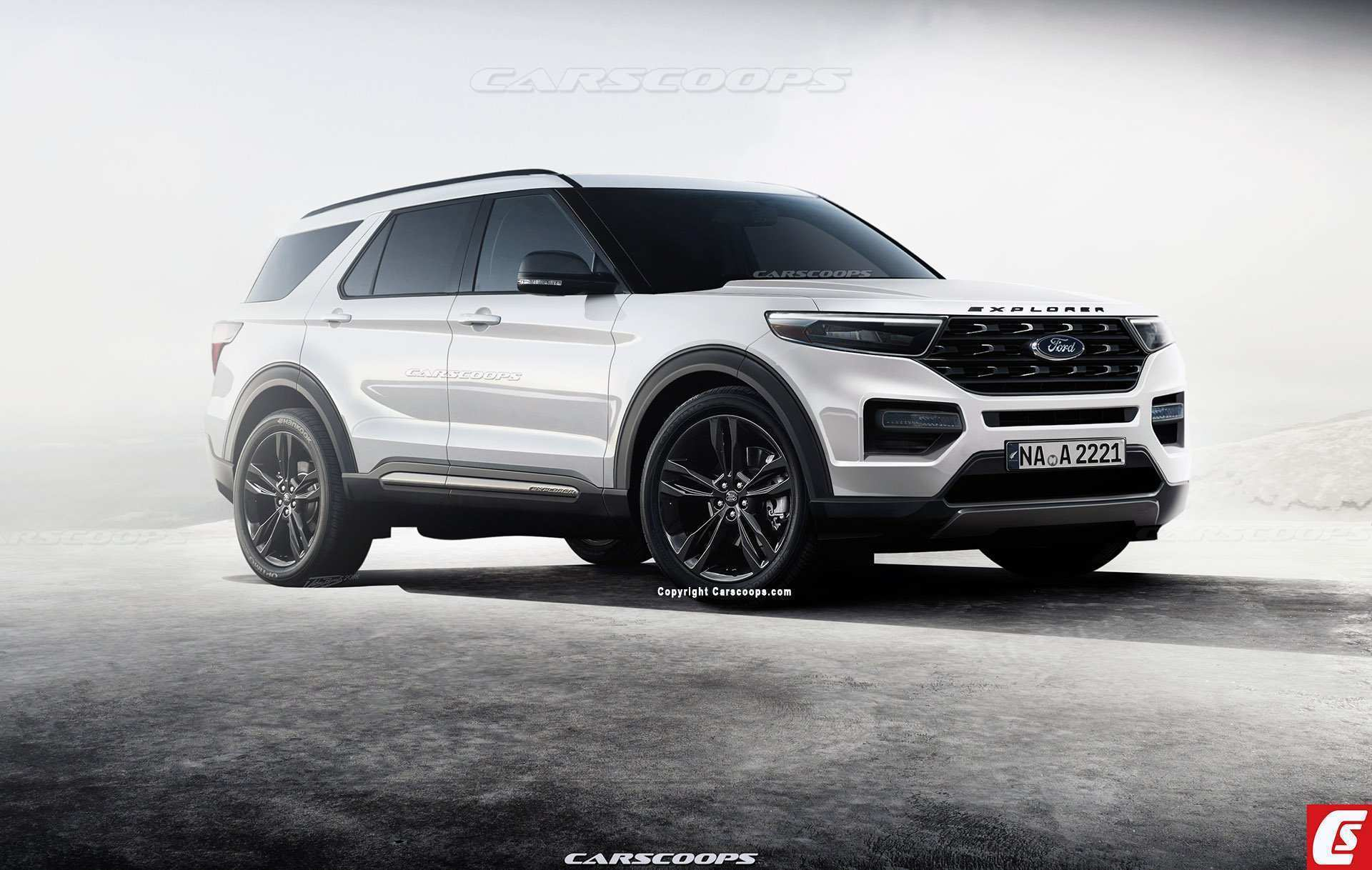 28 The 2020 Ford Explorer Job 1 Concept