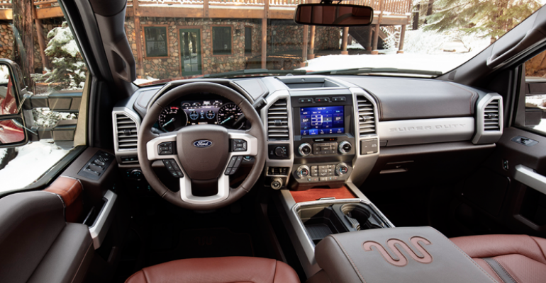 28 The 2020 Ford F350 Super Duty Interior