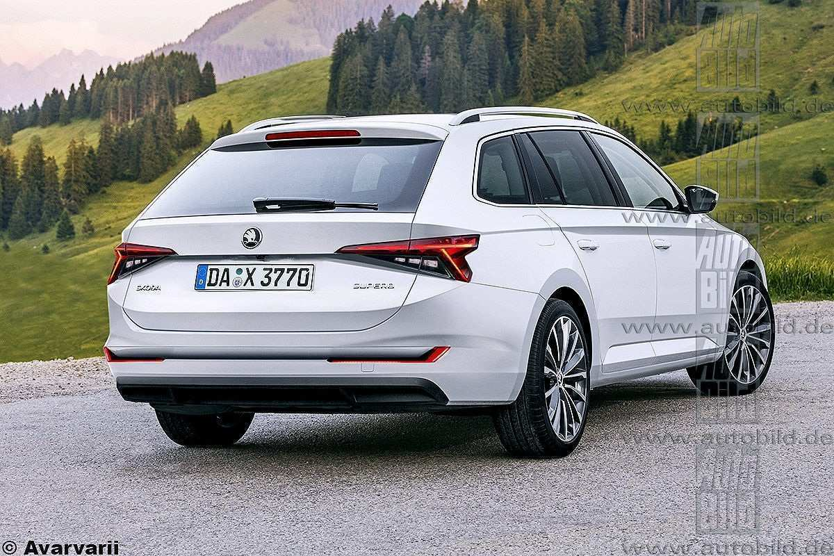 28 The 2020 The Spy Shots Skoda Superb Redesign And Concept