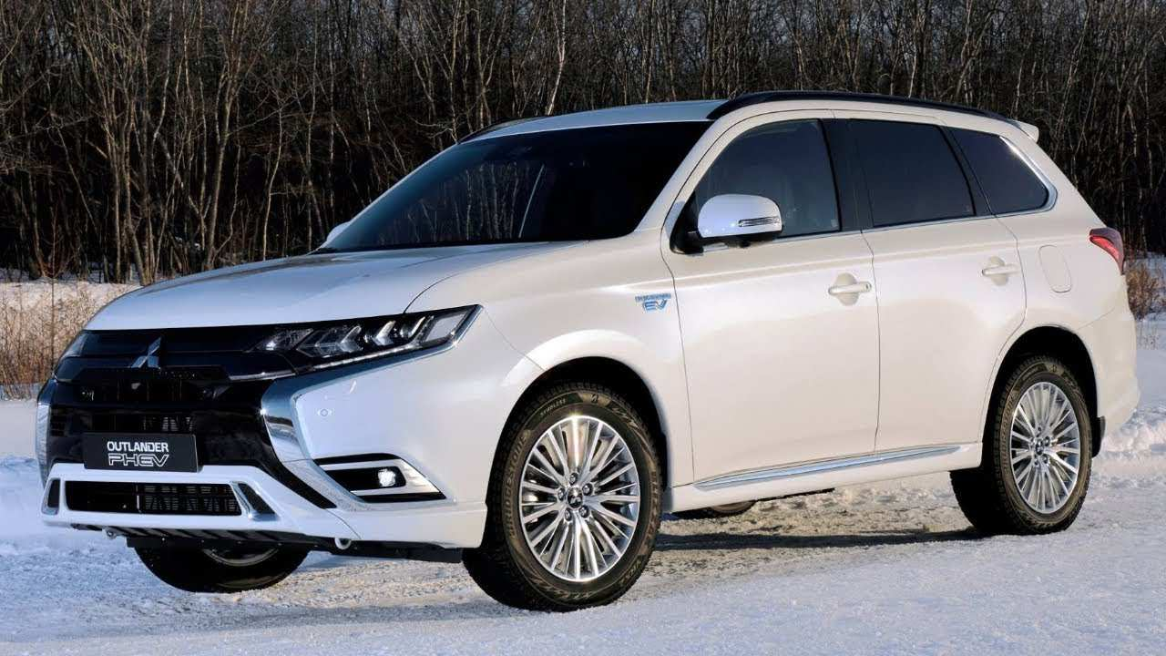 28 The Best Mitsubishi Outlander Hybrid 2020 Spy Shoot