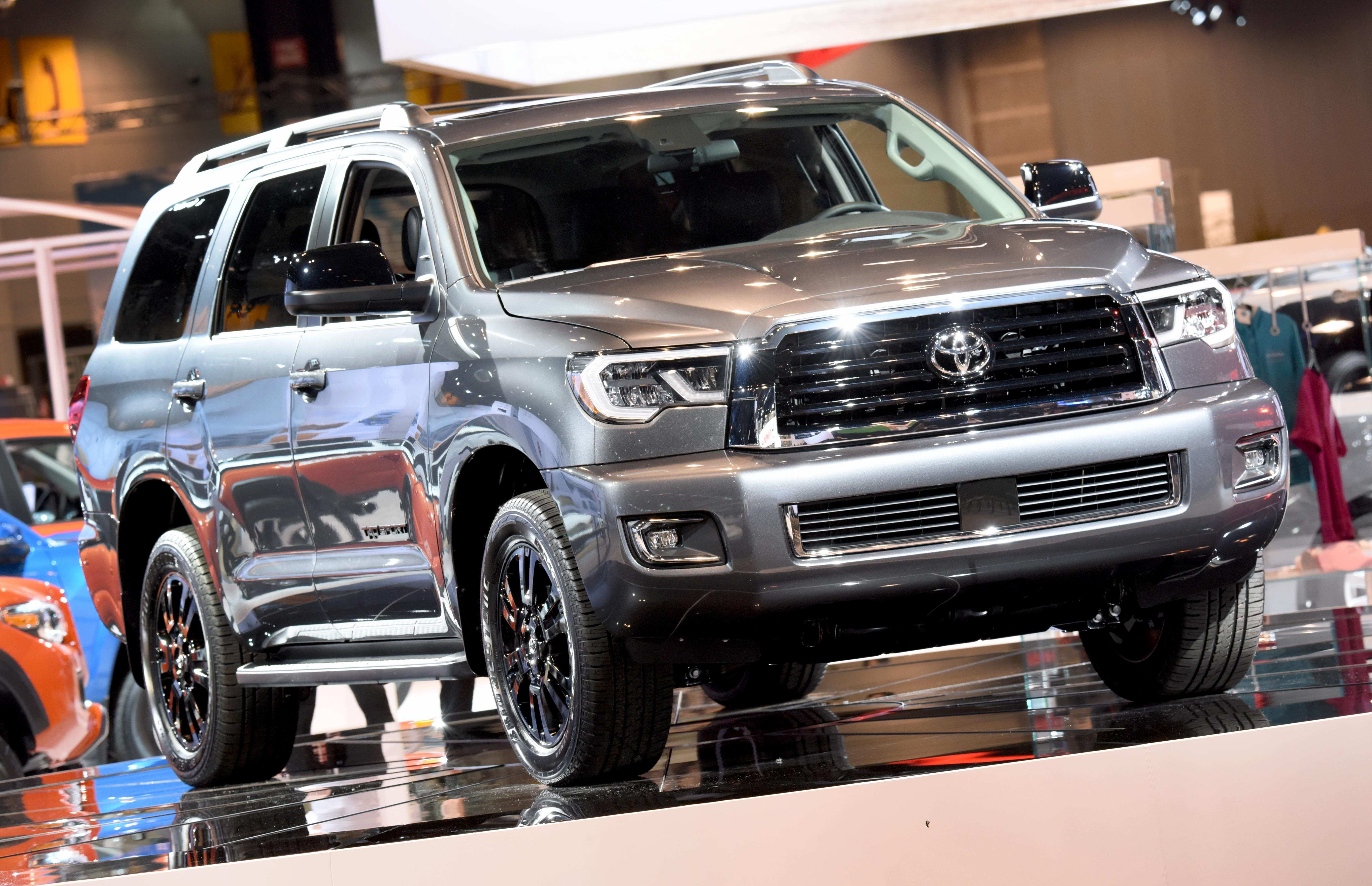 28 The Best Toyota Sequoia 2019 Redesign Performance And New Engine