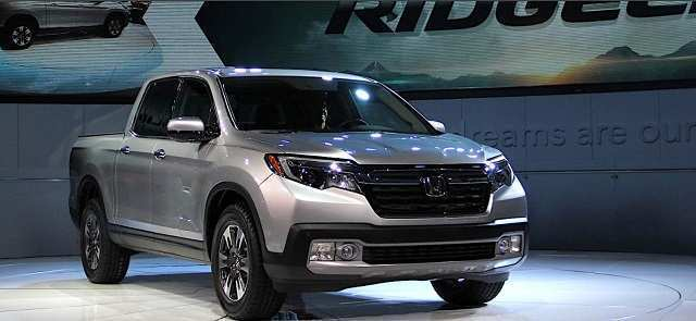 28 The Honda Ridgeline 2020 Spy Shoot