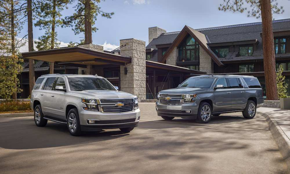 29 A 2020 Chevy Tahoe Ltz Exterior And Interior