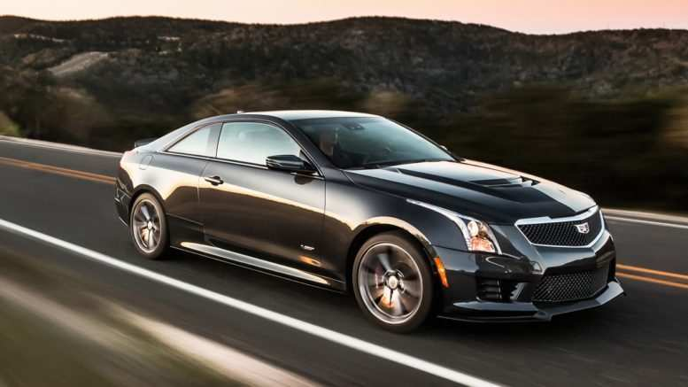 29 All New 2019 Cadillac ATS V Coupe Performance
