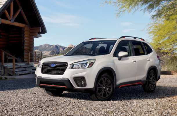 29 All New 2019 Subaru Forester Sport Review and Release date