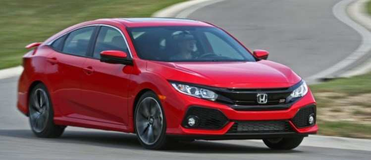 29 All New 2020 Honda Civic Si Sedan Picture