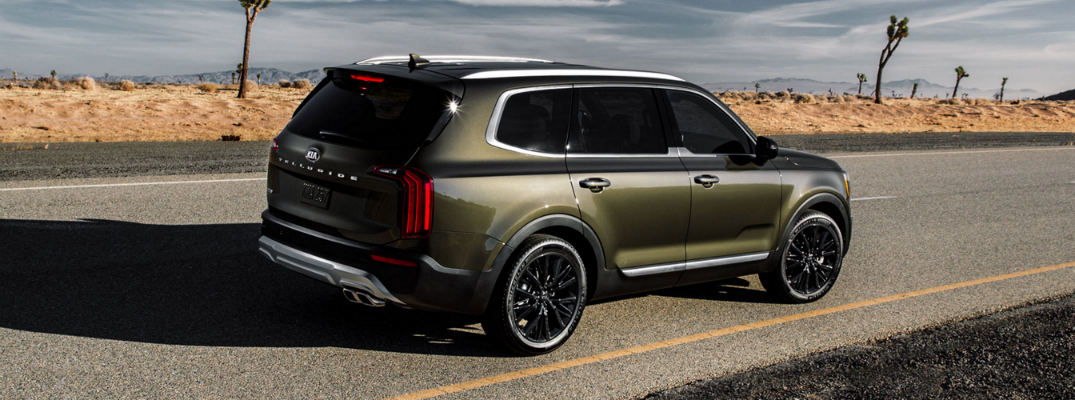 29 All New 2020 Kia Telluride Black Copper Overview