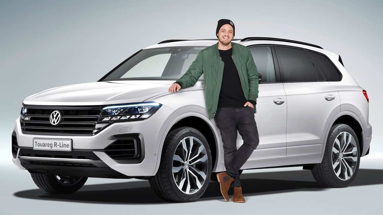 29 All New 2020 Vw Touareg Tdi Redesign And Review
