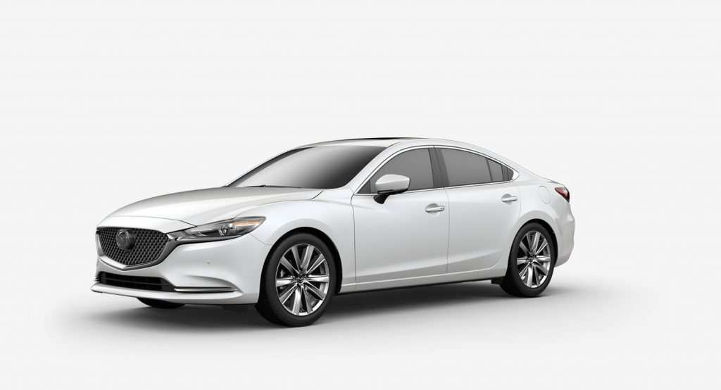29 All New Mazda 6 2019 White First Drive