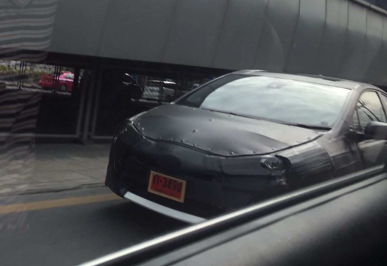 29 All New Spy Shots Toyota Prius Configurations