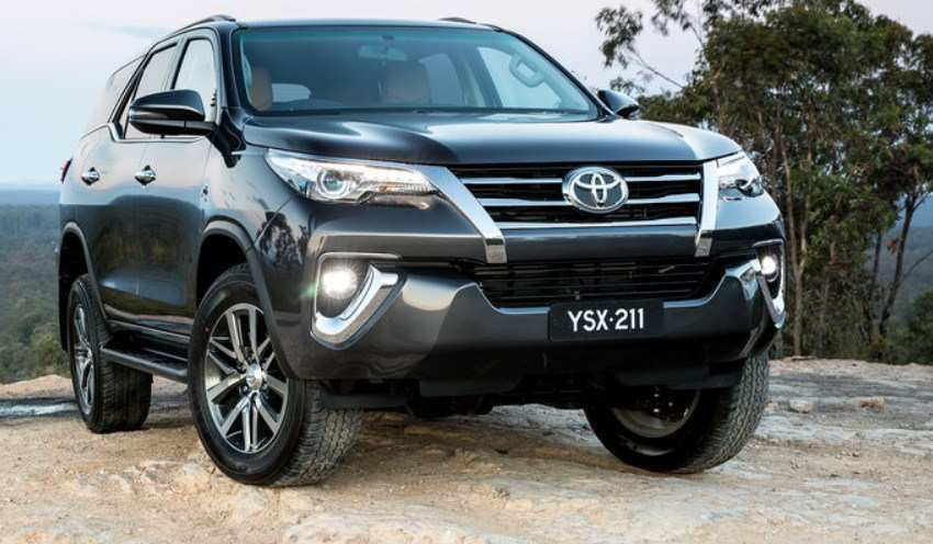 29 All New Toyota Fortuner Facelift 2020 India Exterior