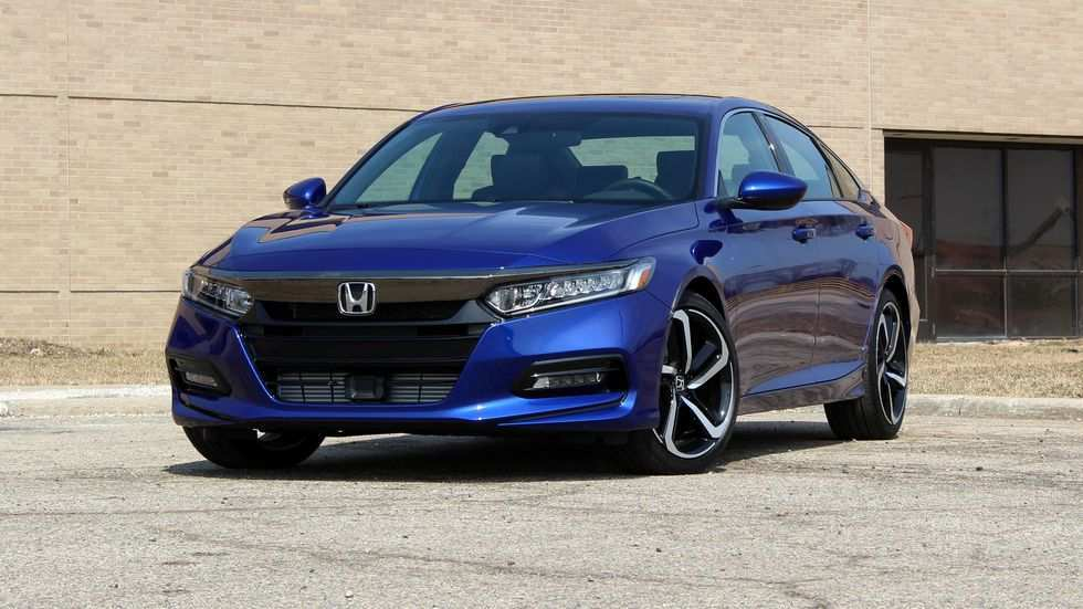 29 New 2019 Honda Accord Sport Redesign And Review
