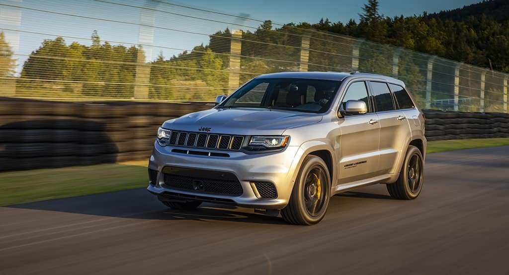 29 New 2019 Jeep Grand Cherokee Trackhawk Spy Shoot