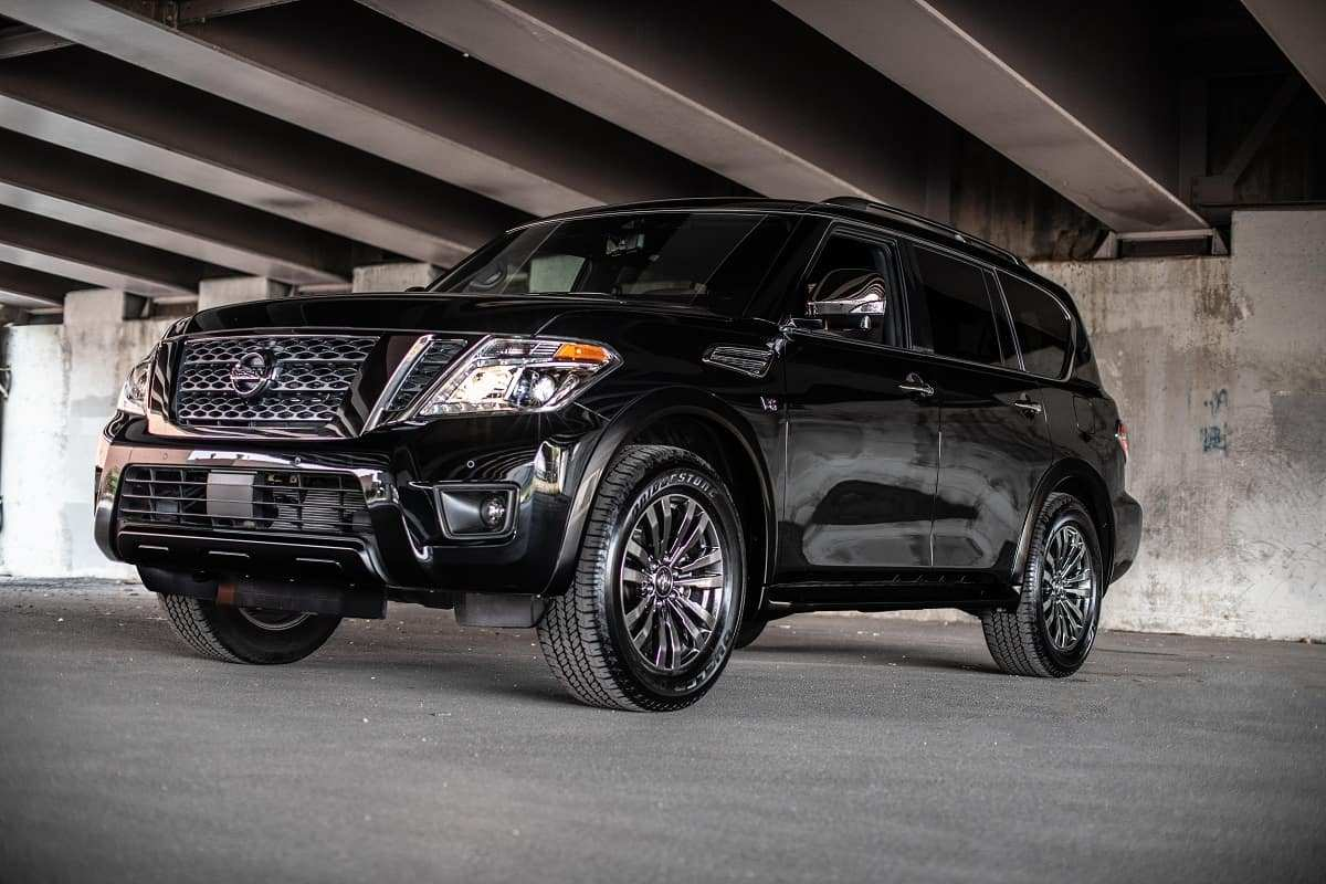 29 New 2019 Nissan Armada Spy Shoot