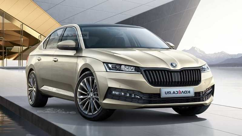29 New 2020 The Spy Shots Skoda Superb Release Date And Concept