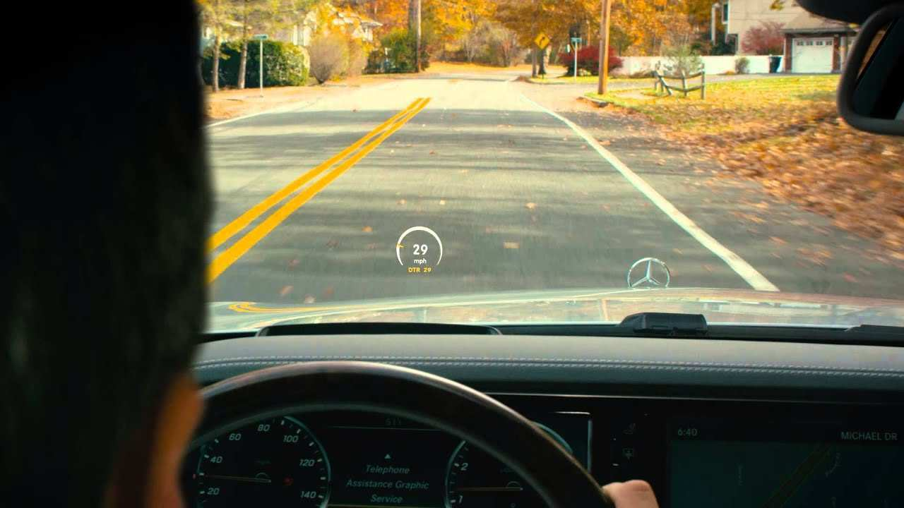 29 New BMW Head Up Display 2020 First Drive