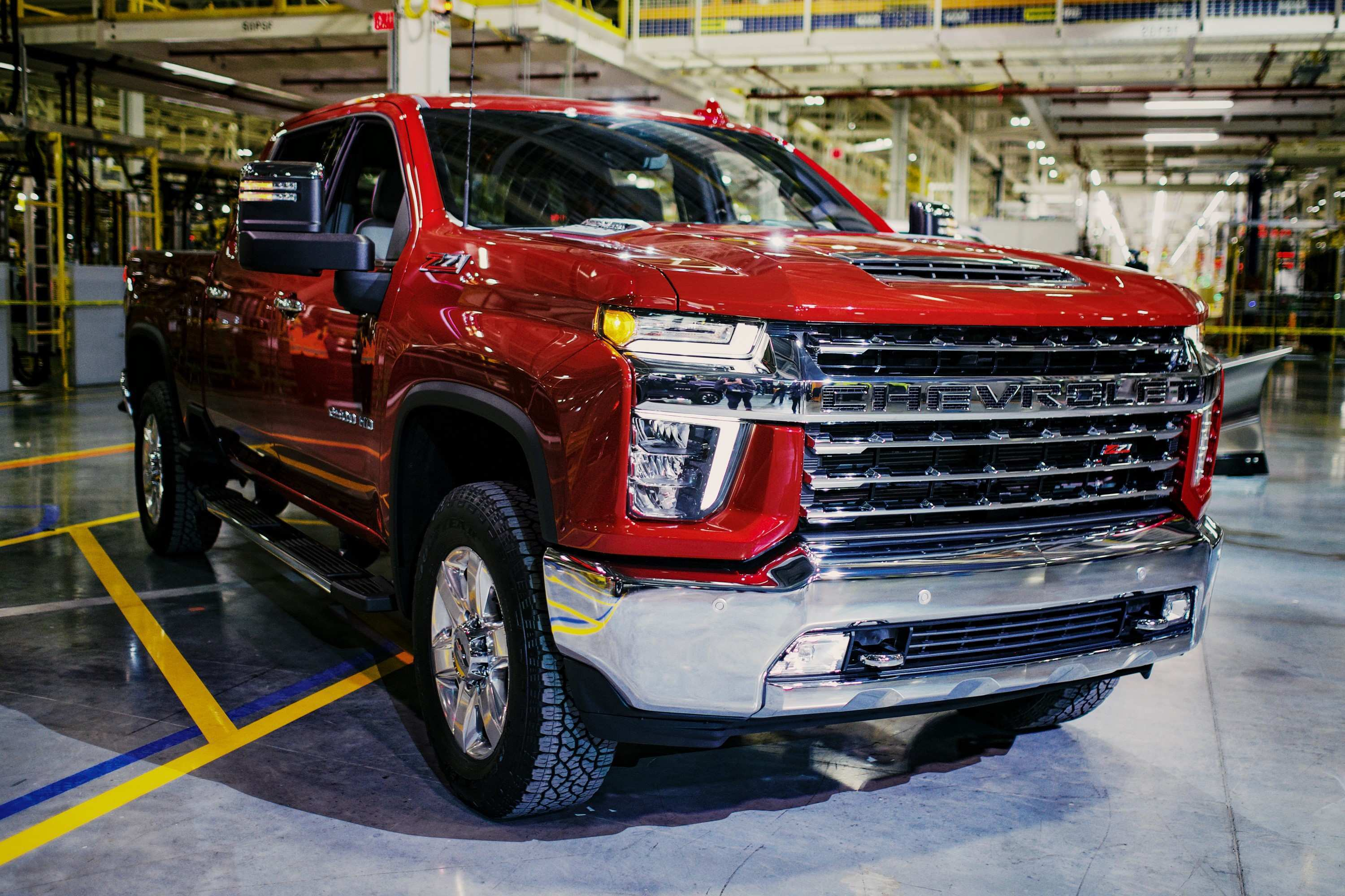 29 New Chevrolet Silverado 2020 Redesign And Concept