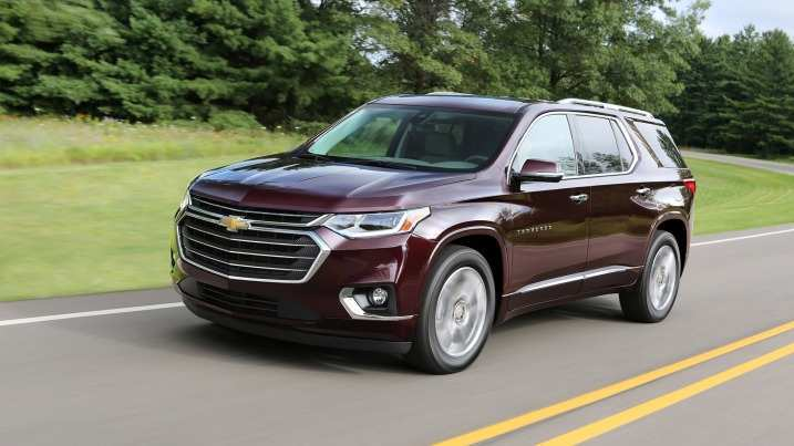 29 The 2019 Chevrolet Traverses Exterior