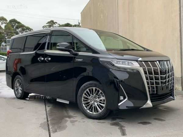29 The 2019 Toyota Alphard New Concept