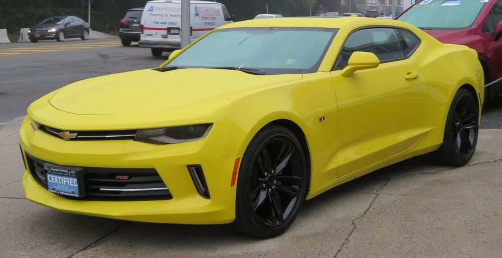 29 The Best 2020 Chevy Camaro Competition Arrival Images