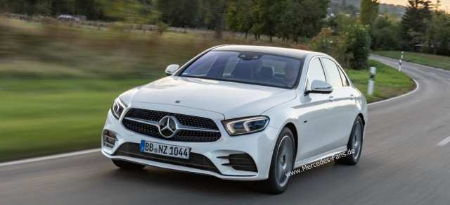 29 The Mercedes E Class Facelift 2019 Spy Shoot