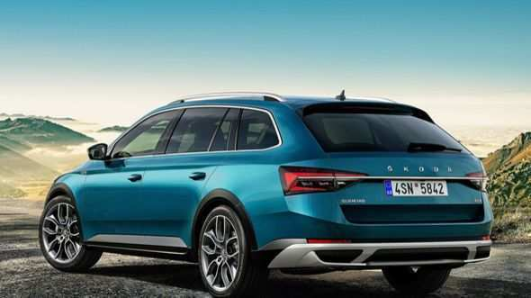 30 A 2019 Skoda Superb Exterior And Interior