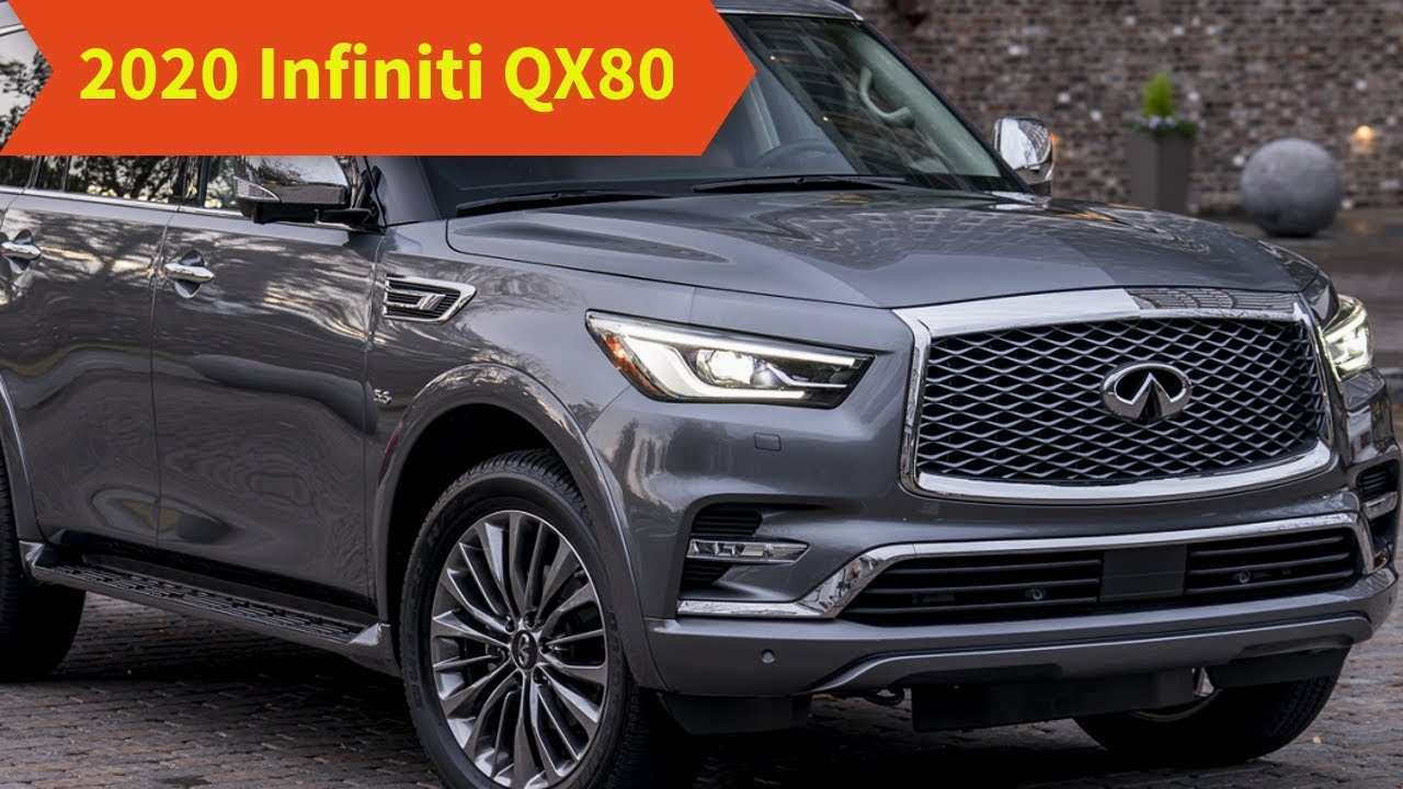 30 A 2020 Infiniti Qx80 New Body Style Images