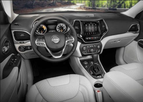 30 A 2020 Jeep Grand Cherokee Interior Concept
