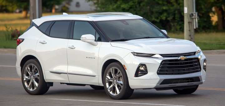 30 A 2020 The Chevy Blazer Exterior