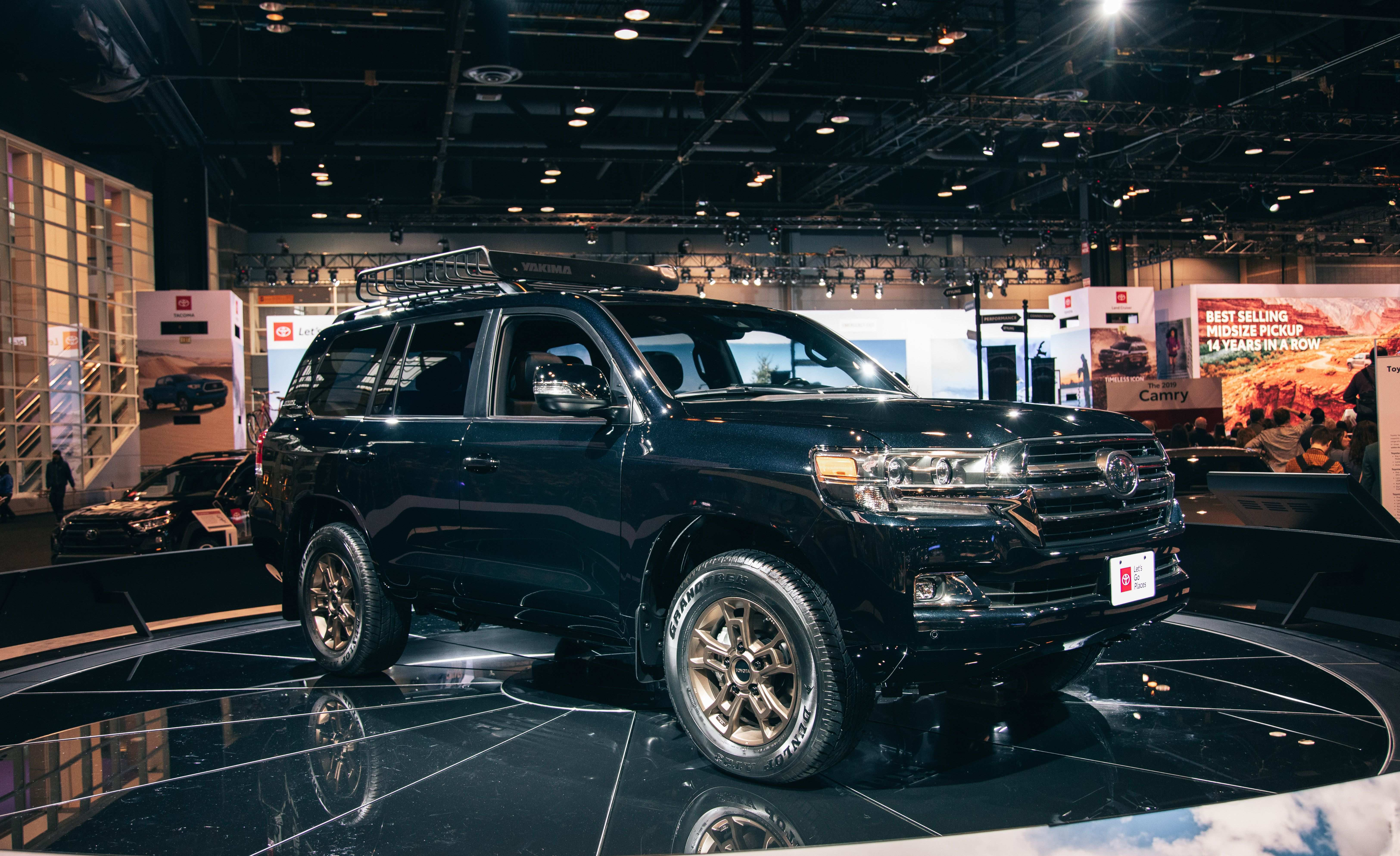 30 A 2020 Toyota Land Cruiser Spesification