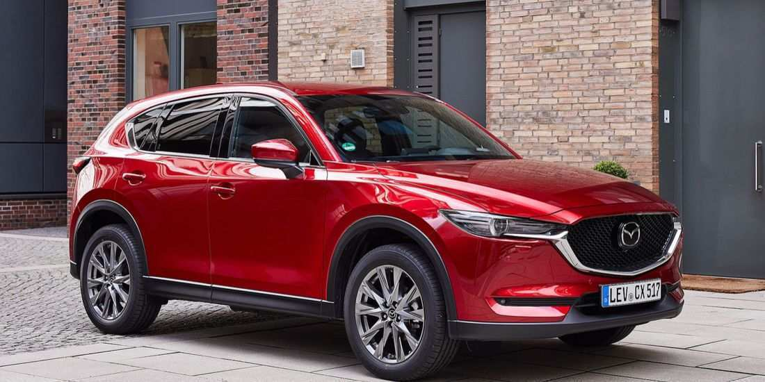 30 All New Mazda Cx 5 2019 White Overview
