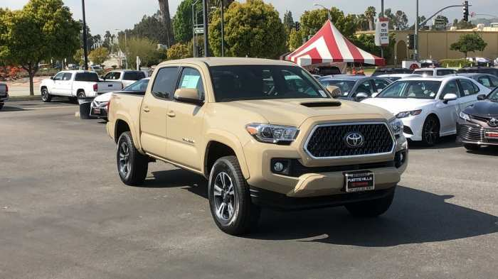 30 New 2019 Toyota Tacoma Quicksand Configurations