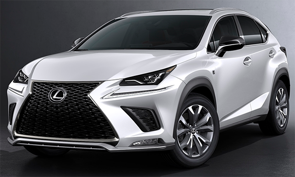 30 New Lexus Nx 2020 Hybrid Spy Shoot