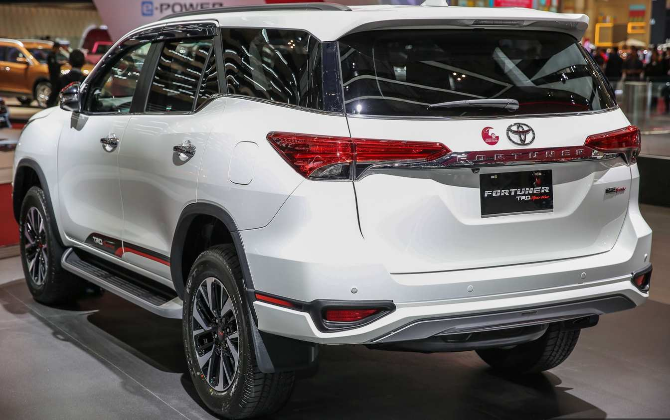 30 New Toyota Fortuner Facelift 2020 India Picture