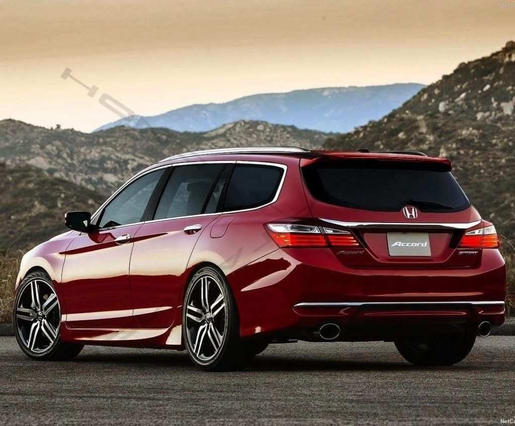 30 The 2019 Honda Wagon Spy Shoot