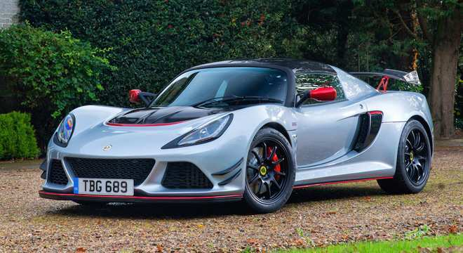30 The 2019 Lotus Exige Spy Shoot