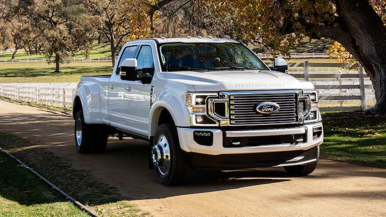 30 The 2020 Ford Super Duty Spy Shoot