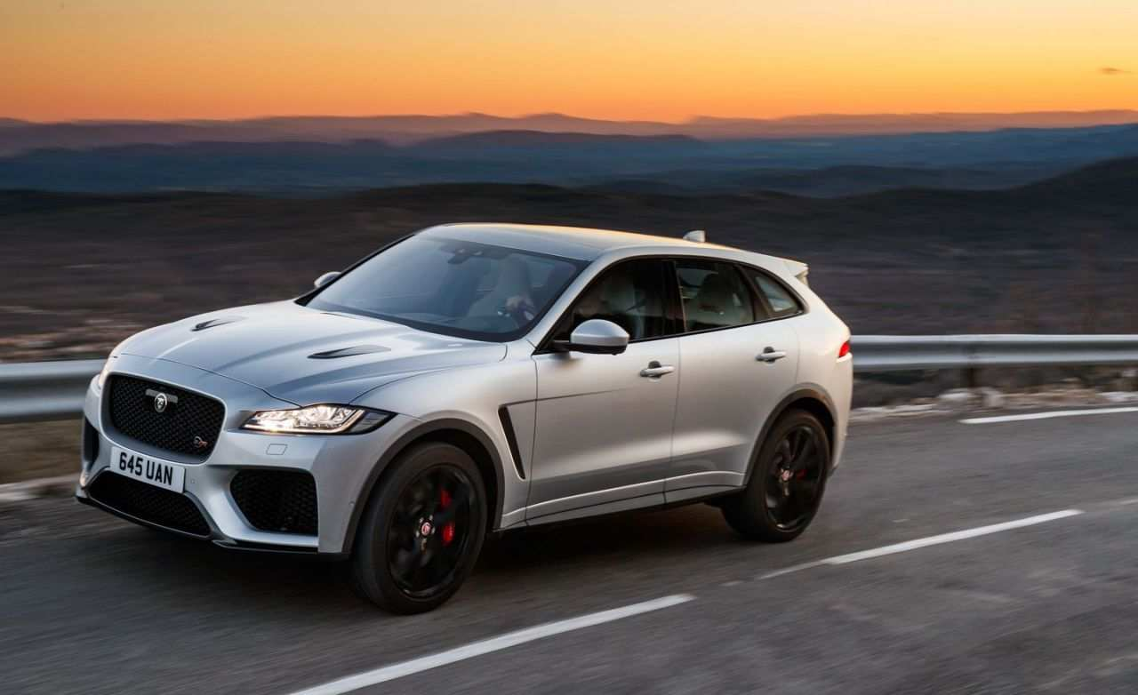 30 The 2020 Jaguar F Pace Svr Exterior And Interior