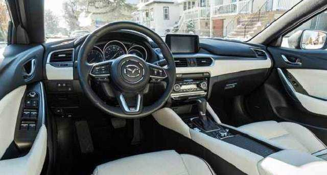 30 The Mazda 6 2019 Interior Spy Shoot