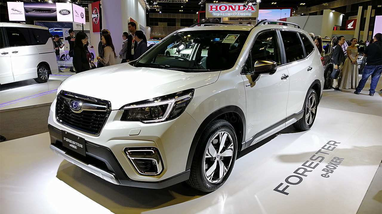 30 The Subaru Forester 2019 Hybrid Interior
