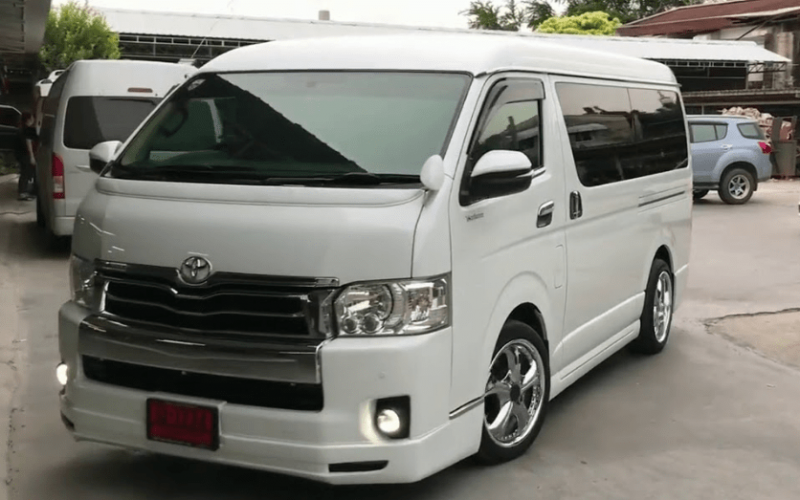 31 A 2020 Toyota Hiace Review