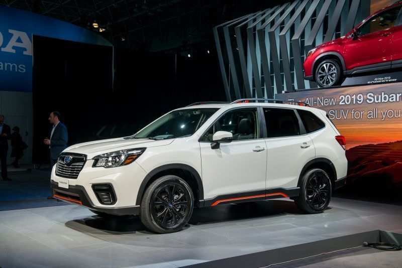 31 A New Generation 2020 Subaru Forester New Concept